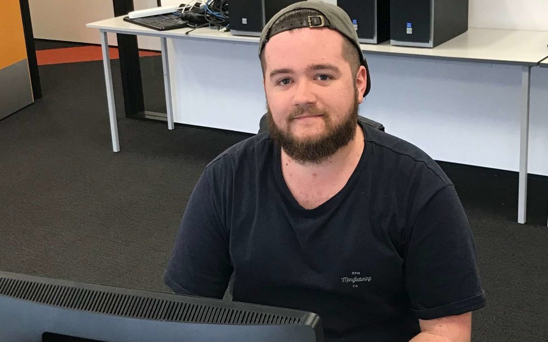 Congratulations to Bradley for completing his Diploma in Information Technology (Level 5)