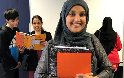 Build your confidence with ESOL courses